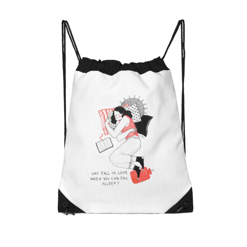 Why Fall in Love? Accessories Bag by juliabernhard's Artist Shop
