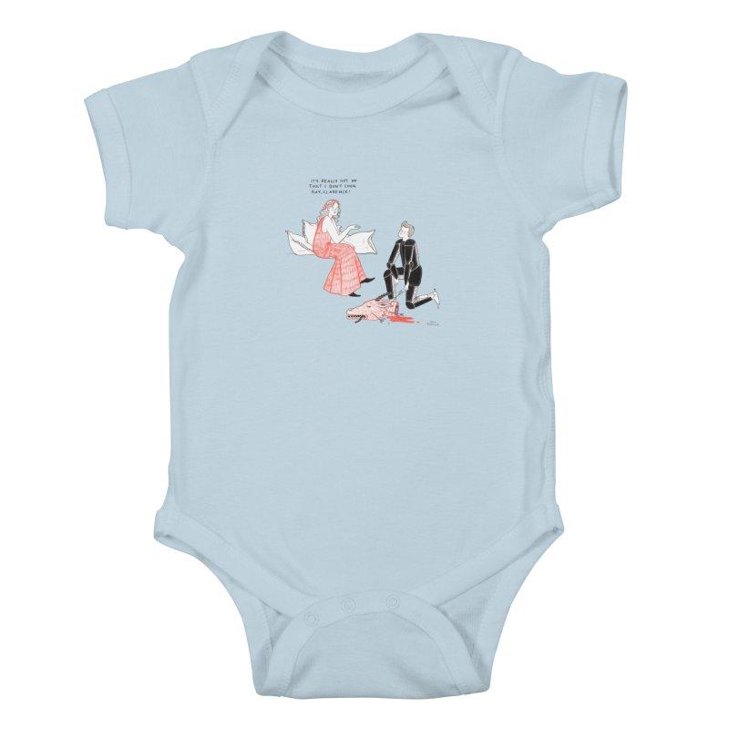 Little Princess Kids Baby Bodysuit by juliabernhard's Artist Shop