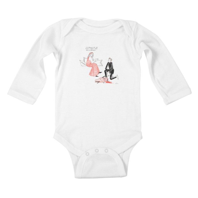 Little Princess Kids Baby Longsleeve Bodysuit by Julia Bernhard