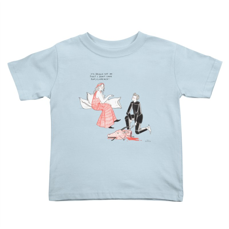 Little Princess Kids Toddler T-Shirt by Julia Bernhard
