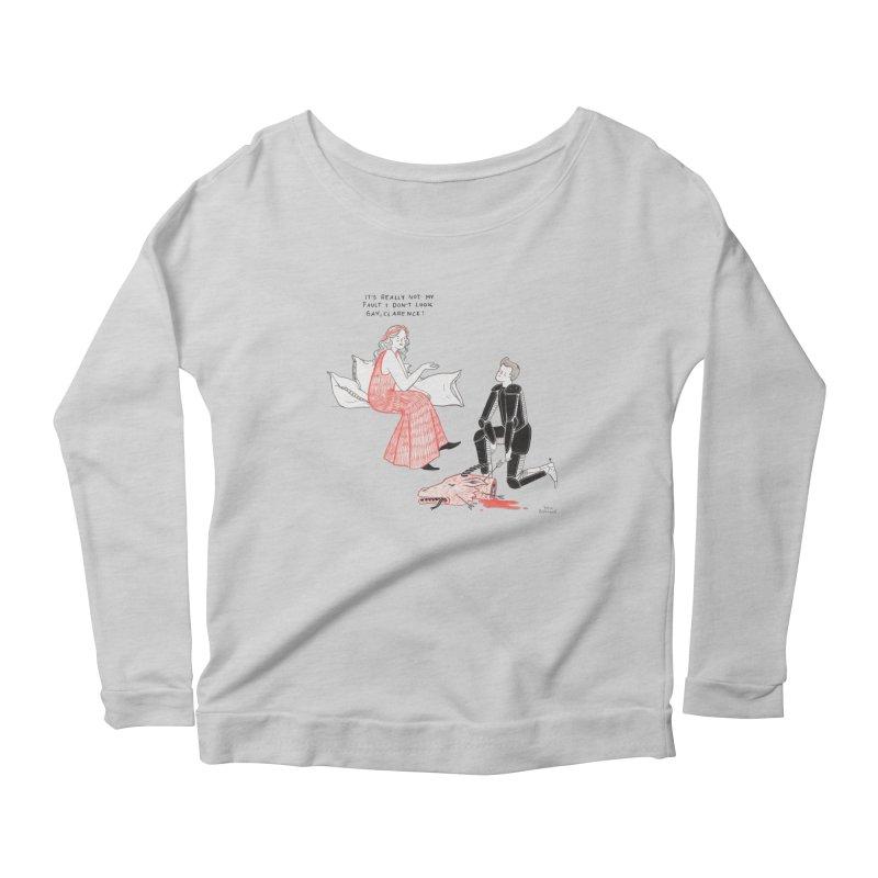 Little Princess Women's Scoop Neck Longsleeve T-Shirt by juliabernhard's Artist Shop