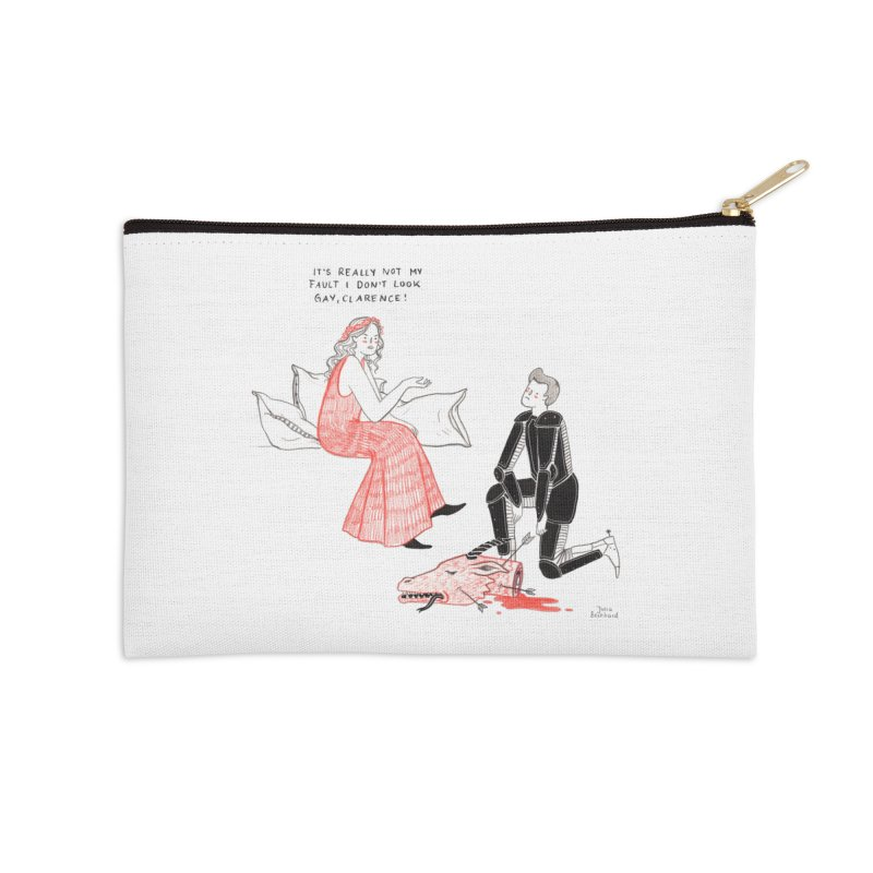 Little Princess Accessories Zip Pouch by juliabernhard's Artist Shop