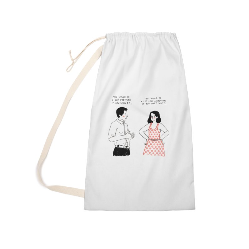 Smile! Accessories Laundry Bag Bag by Julia Bernhard