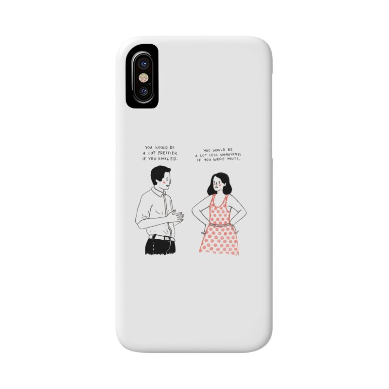 Smile! Accessories Phone Case by juliabernhard's Artist Shop