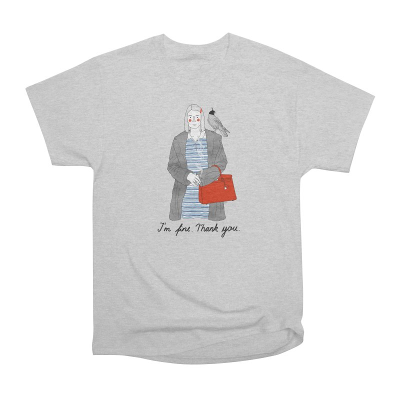 Margot Tenenbaum Men's Heavyweight T-Shirt by juliabernhard's Artist Shop