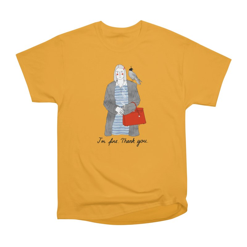 Margot Tenenbaum Men's Classic T-Shirt by juliabernhard's Artist Shop