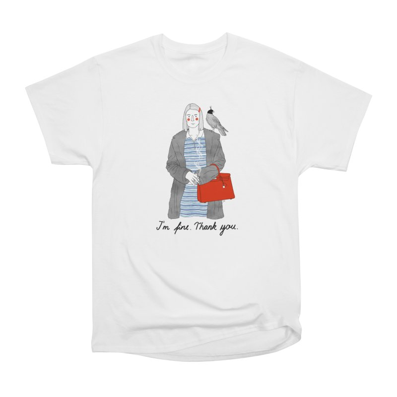Margot Tenenbaum Women's Classic Unisex T-Shirt by juliabernhard's Artist Shop