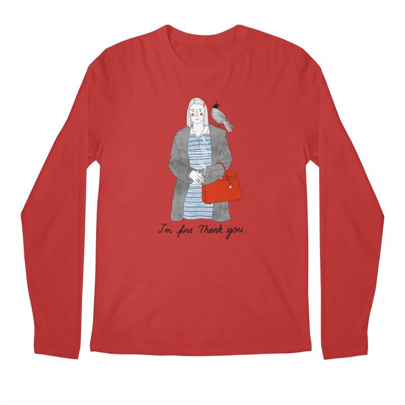 Margot Tenenbaum Men's Regular Longsleeve T-Shirt by juliabernhard's Artist Shop