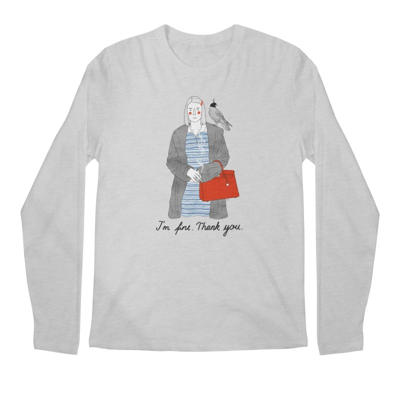 Margot Tenenbaum Men's Regular Longsleeve T-Shirt by juliabernhard's Artist Shop