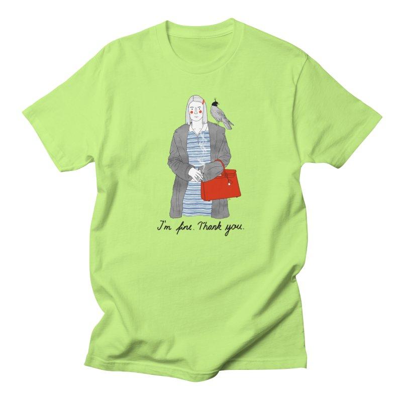 Margot Tenenbaum Women's Regular Unisex T-Shirt by juliabernhard's Artist Shop