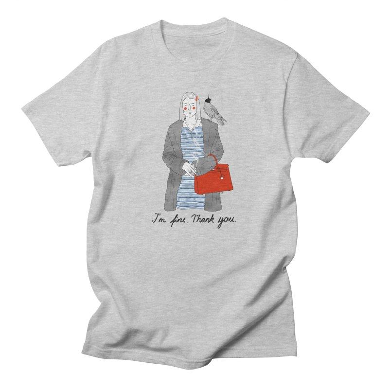 Margot Tenenbaum Men's Regular T-Shirt by juliabernhard's Artist Shop