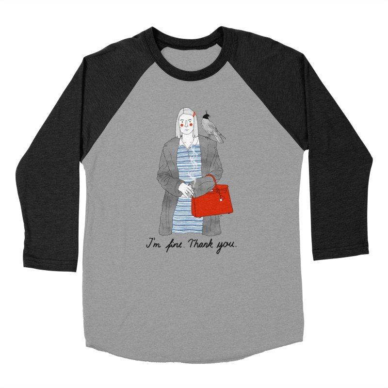 Margot Tenenbaum Women's Baseball Triblend Longsleeve T-Shirt by juliabernhard's Artist Shop