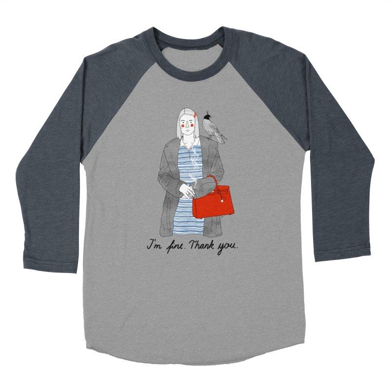 Margot Tenenbaum Women's Baseball Triblend Longsleeve T-Shirt by Julia Bernhard