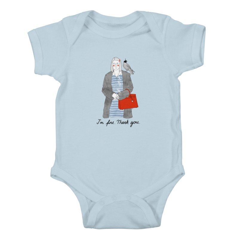 Margot Tenenbaum Kids Baby Bodysuit by juliabernhard's Artist Shop
