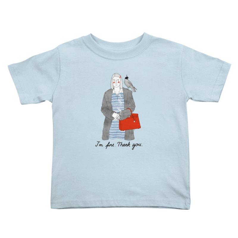 Margot Tenenbaum Kids Toddler T-Shirt by juliabernhard's Artist Shop