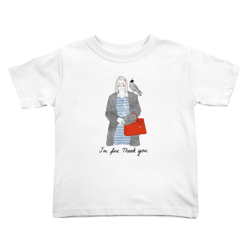 Margot Tenenbaum Kids Toddler T-Shirt by juliabernhard's Artist Shop