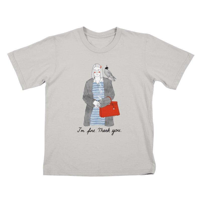 Margot Tenenbaum Kids T-Shirt by juliabernhard's Artist Shop