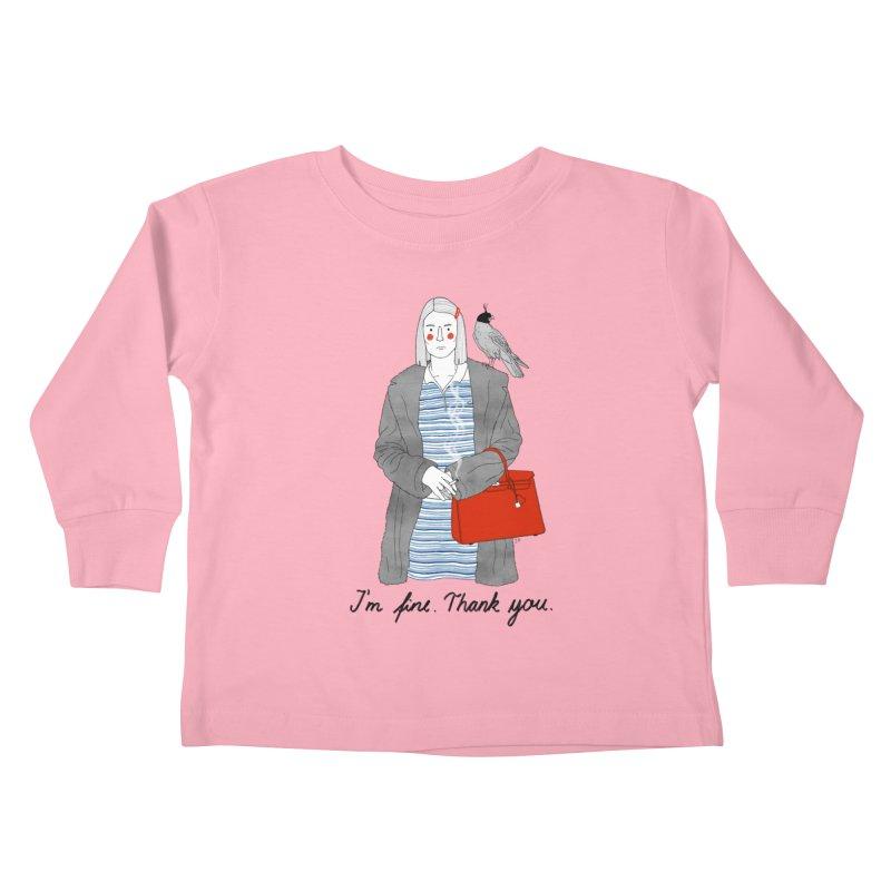 Margot Tenenbaum Kids Toddler Longsleeve T-Shirt by juliabernhard's Artist Shop