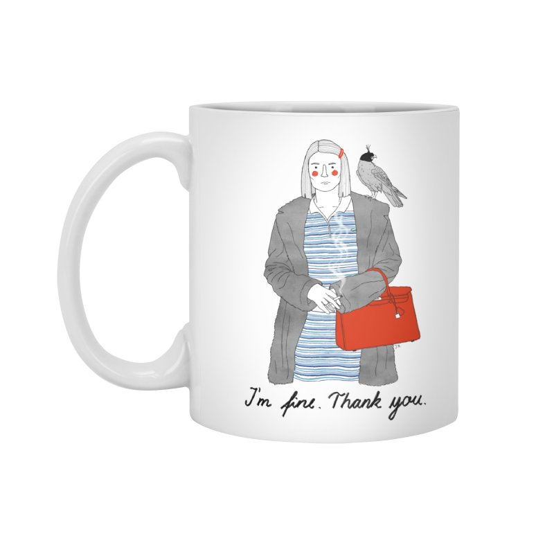 Margot Tenenbaum Accessories Mug by juliabernhard's Artist Shop