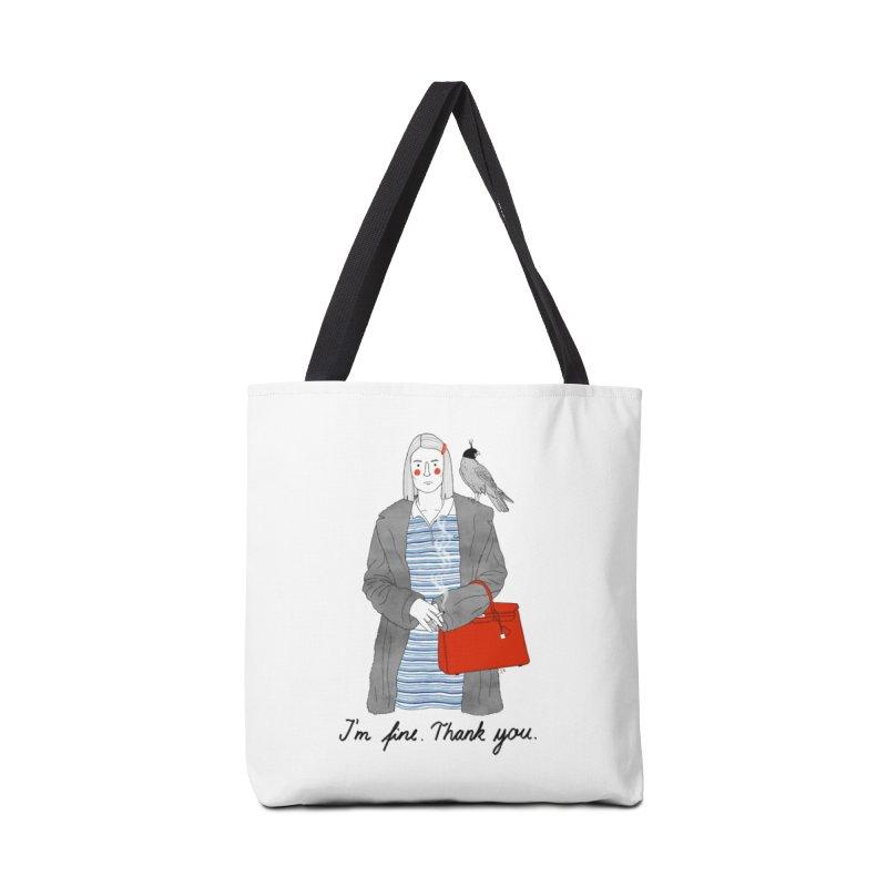 Margot Tenenbaum Accessories Bag by juliabernhard's Artist Shop