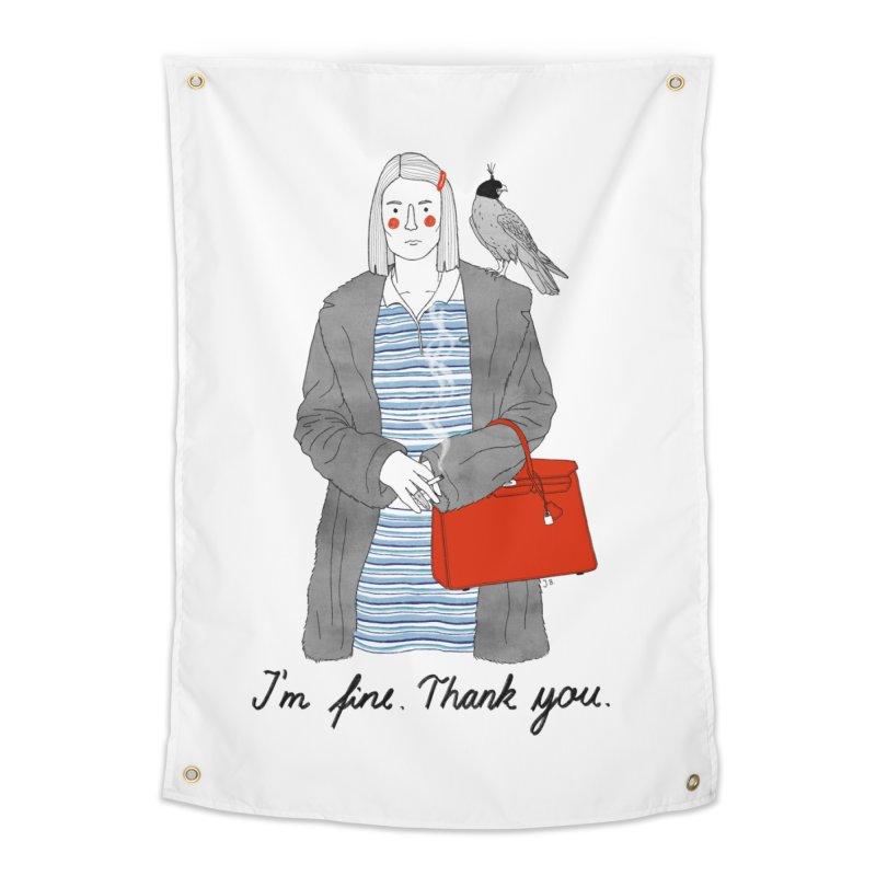 Margot Tenenbaum Home Tapestry by juliabernhard's Artist Shop