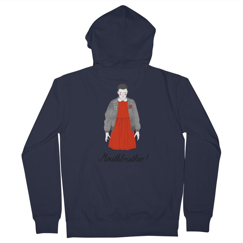 Stranger Things Women's French Terry Zip-Up Hoody by juliabernhard's Artist Shop