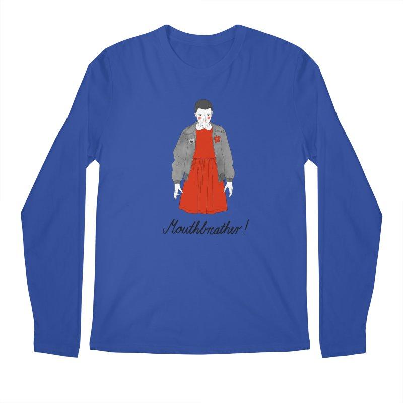 Stranger Things Men's Regular Longsleeve T-Shirt by juliabernhard's Artist Shop