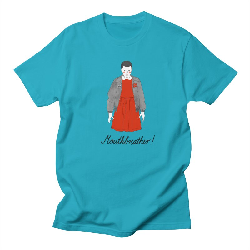 Stranger Things Women's Regular Unisex T-Shirt by juliabernhard's Artist Shop