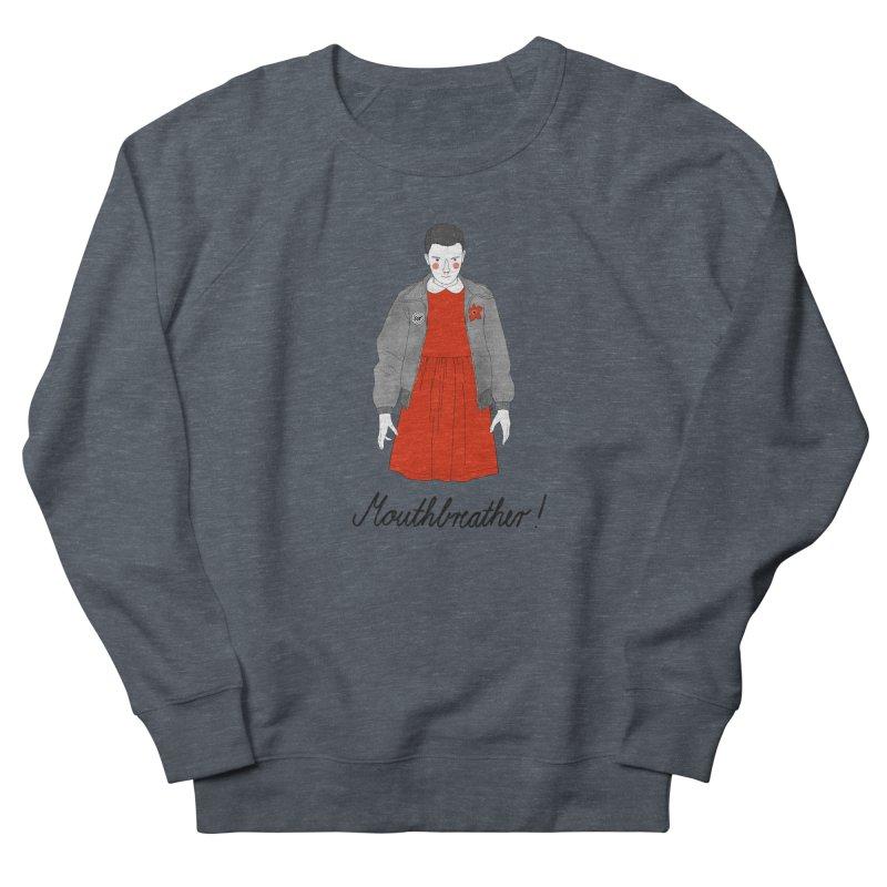 Stranger Things Women's French Terry Sweatshirt by juliabernhard's Artist Shop