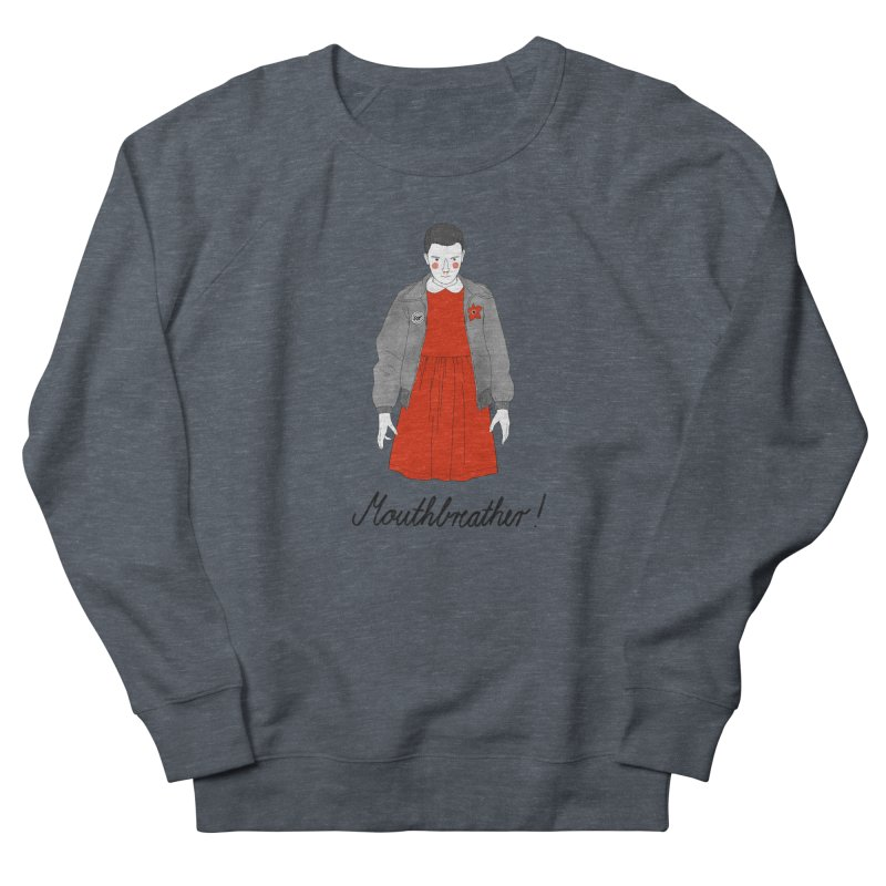 Stranger Things Men's French Terry Sweatshirt by juliabernhard's Artist Shop