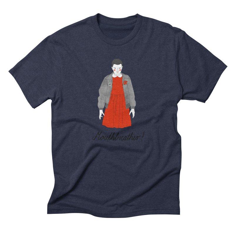 Stranger Things Men's Triblend T-Shirt by Julia Bernhard