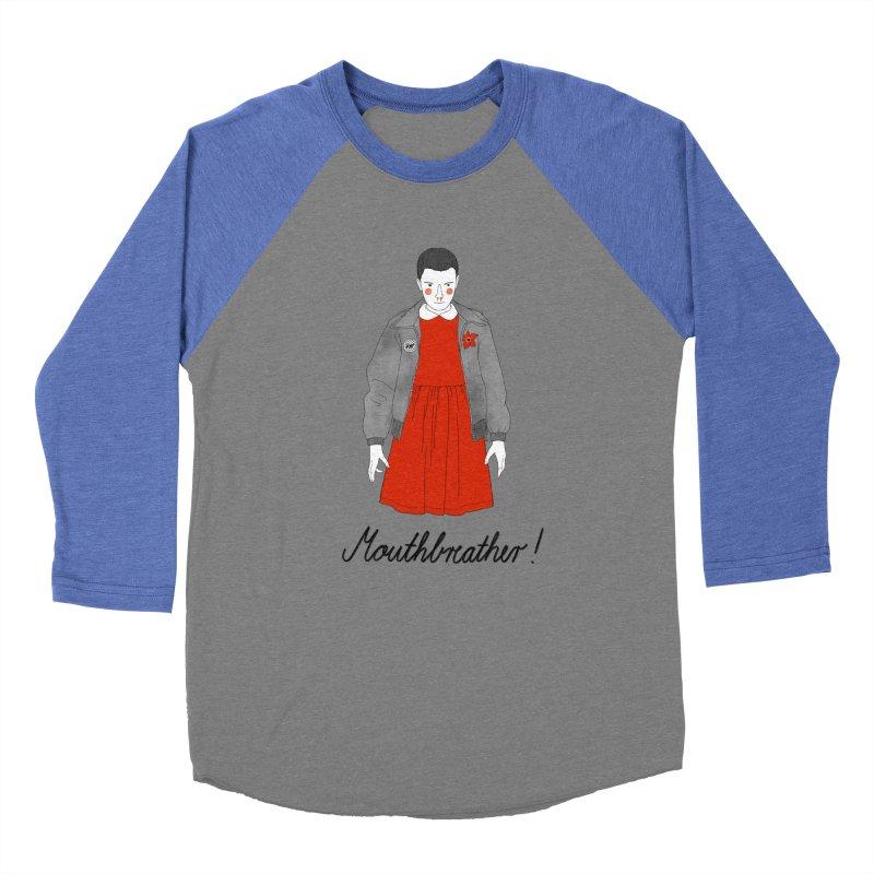 Stranger Things Women's Baseball Triblend Longsleeve T-Shirt by Julia Bernhard