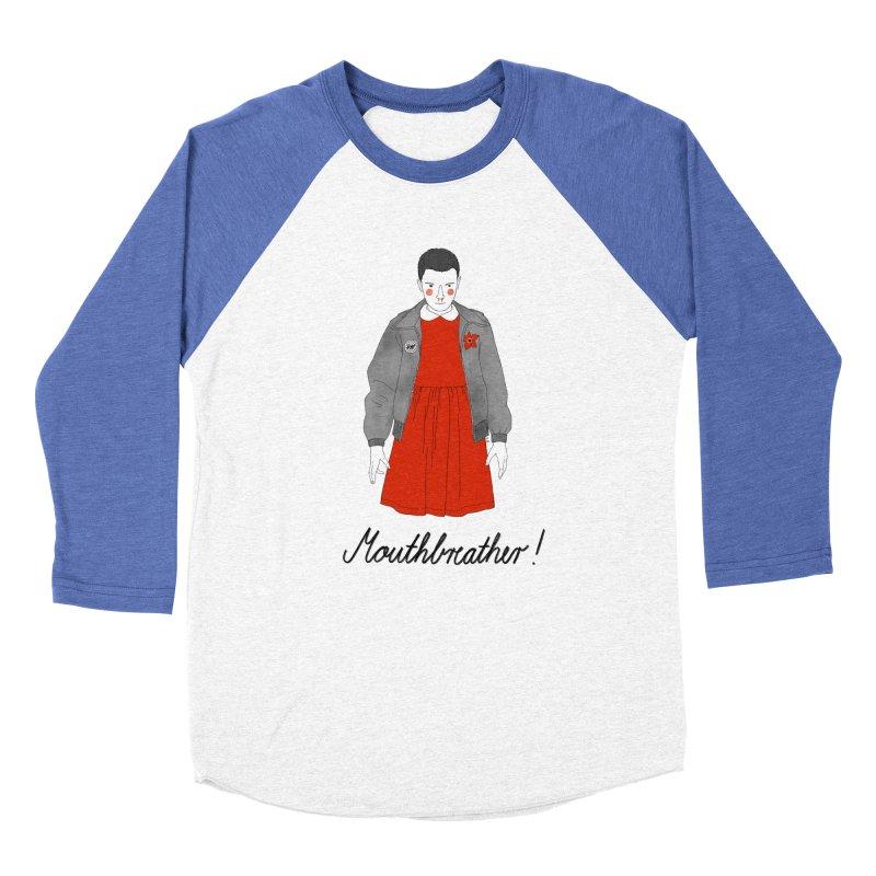 Stranger Things Men's Baseball Triblend Longsleeve T-Shirt by Julia Bernhard