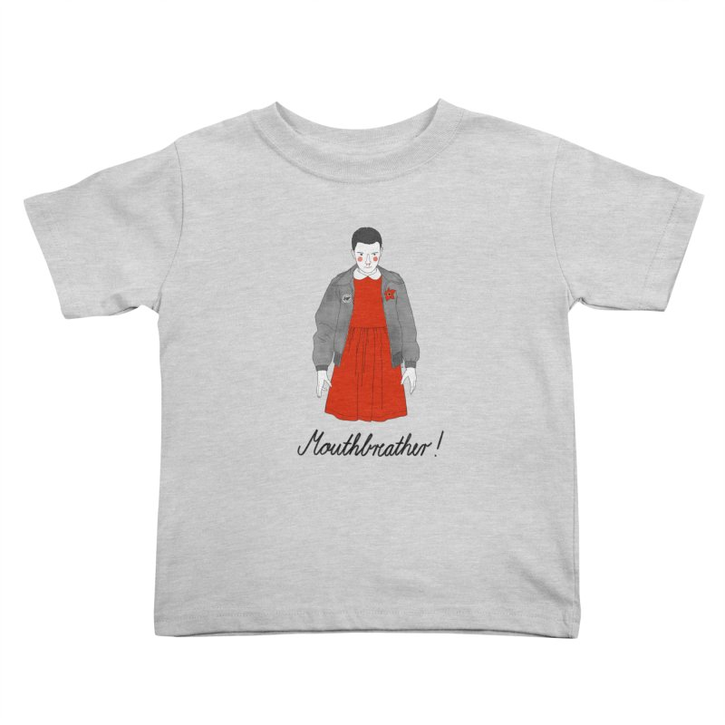 Stranger Things Kids Toddler T-Shirt by juliabernhard's Artist Shop