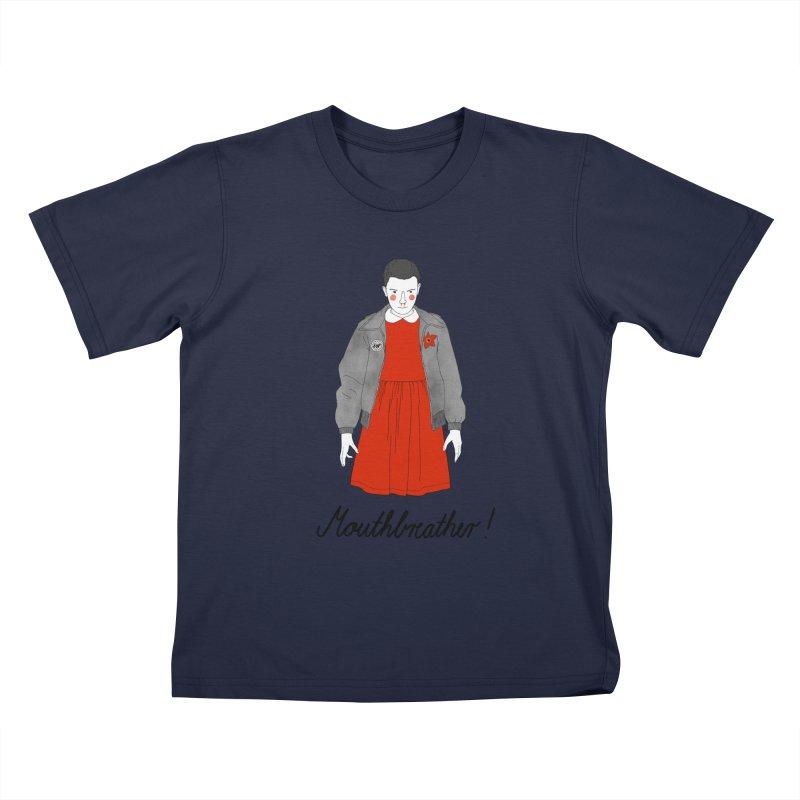 Stranger Things Kids T-Shirt by juliabernhard's Artist Shop