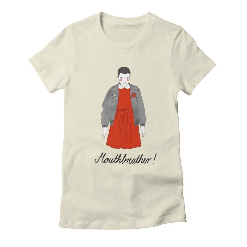 Stranger Things Women's Fitted T-Shirt by juliabernhard's Artist Shop