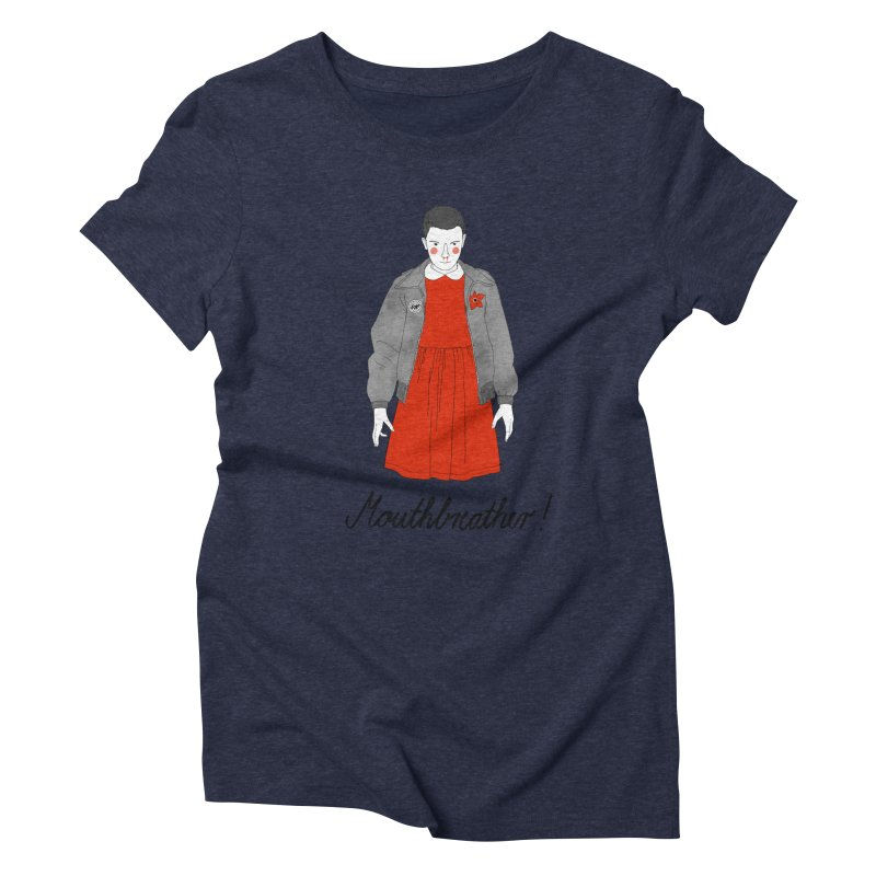 Stranger Things Women's Triblend T-Shirt by juliabernhard's Artist Shop