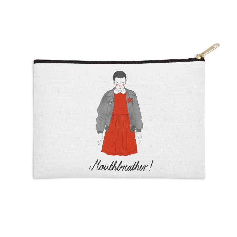 Stranger Things Accessories Zip Pouch by Julia Bernhard