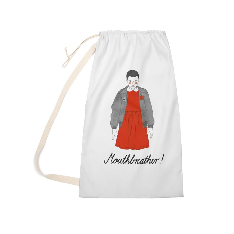Stranger Things Accessories Laundry Bag Bag by Julia Bernhard