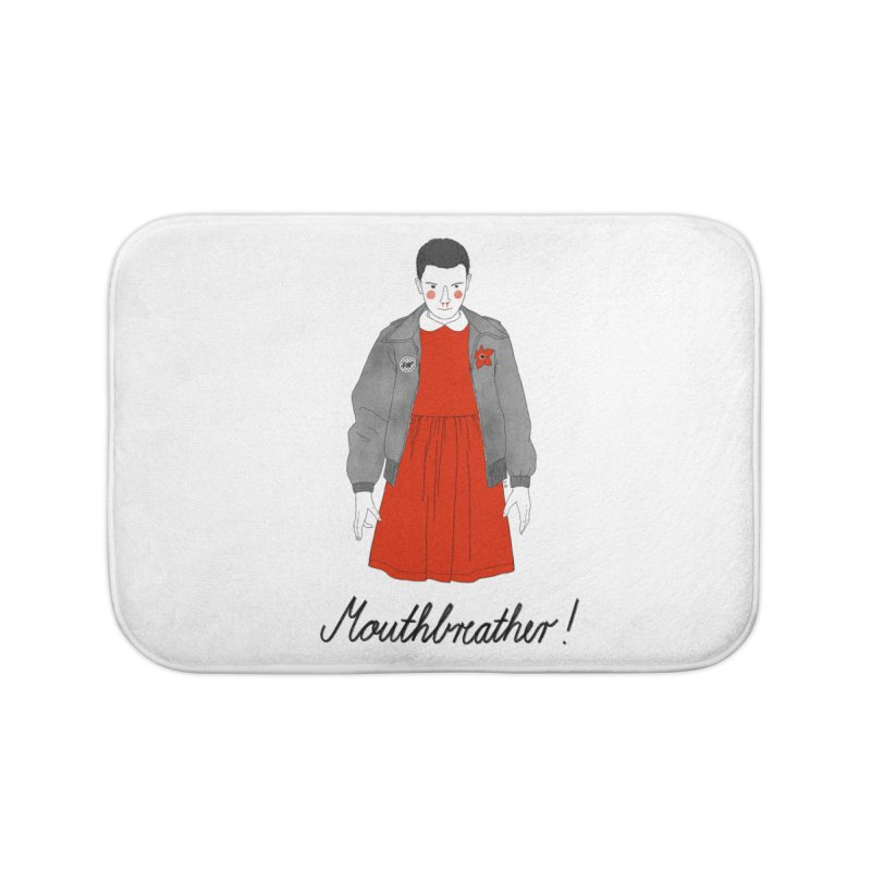 Stranger Things Home Bath Mat by juliabernhard's Artist Shop