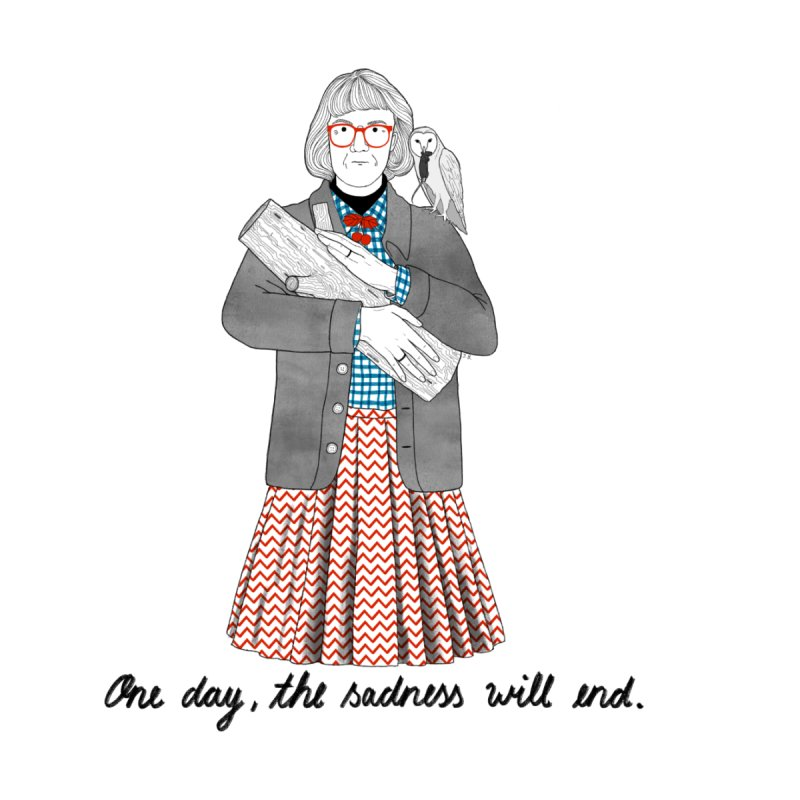 The Log Lady None  by juliabernhard's Artist Shop
