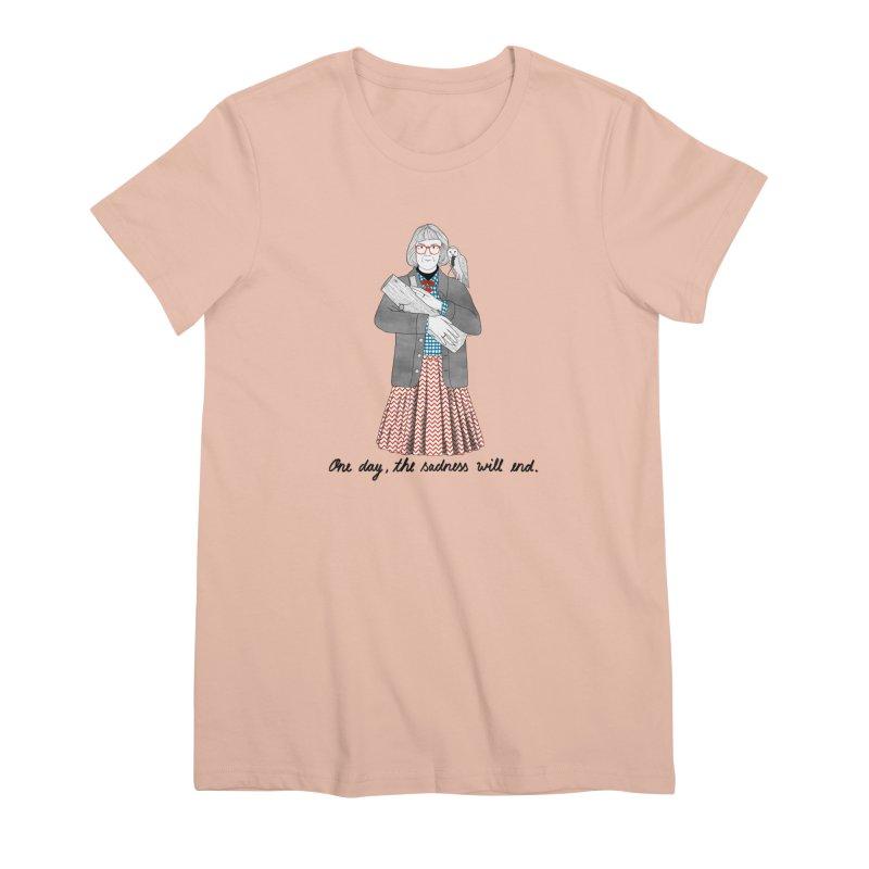 The Log Lady Women's Premium T-Shirt by juliabernhard's Artist Shop