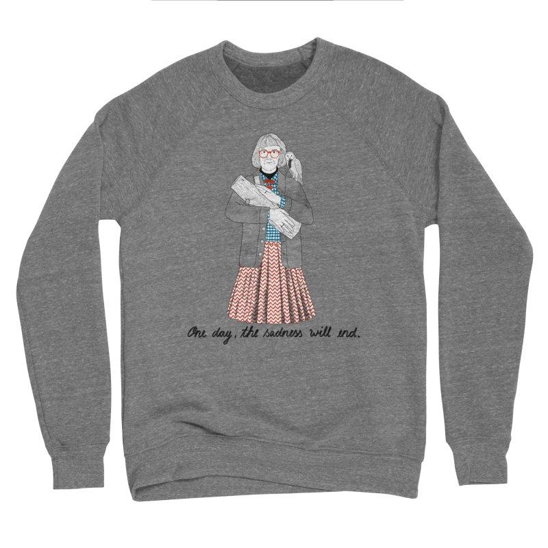 The Log Lady Women's Sponge Fleece Sweatshirt by juliabernhard's Artist Shop