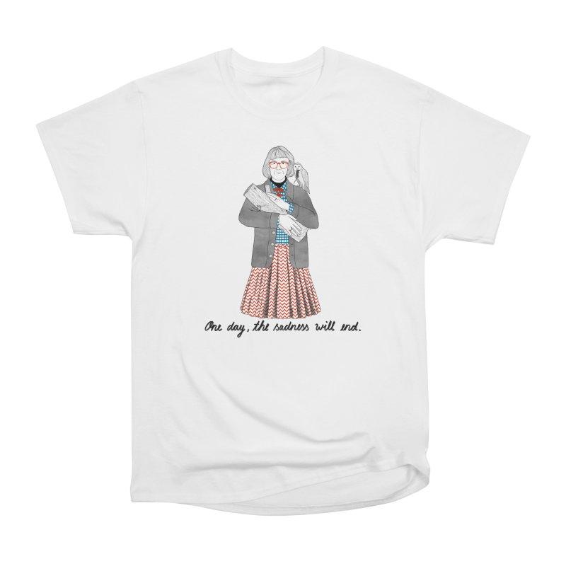 The Log Lady Women's Heavyweight Unisex T-Shirt by juliabernhard's Artist Shop