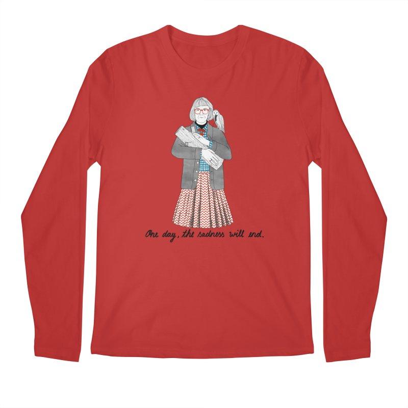 The Log Lady Men's Regular Longsleeve T-Shirt by juliabernhard's Artist Shop