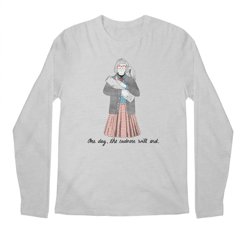 The Log Lady Men's Regular Longsleeve T-Shirt by juliabernhard's Artist Shop