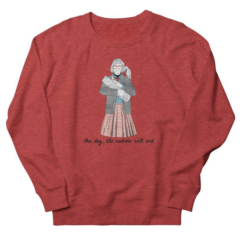 The Log Lady Men's French Terry Sweatshirt by juliabernhard's Artist Shop