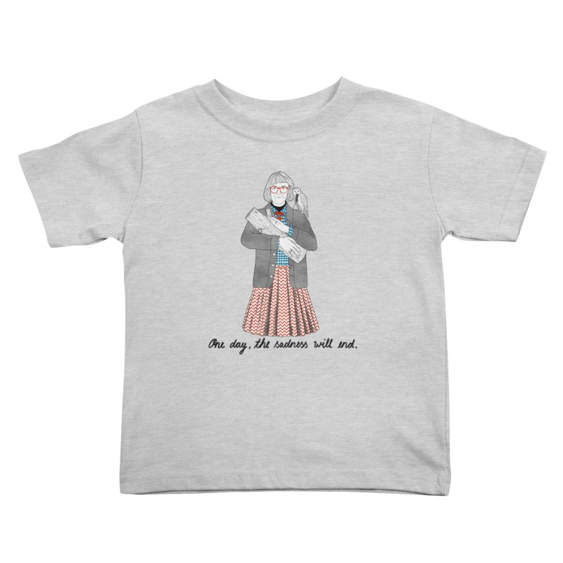 The Log Lady Kids Toddler T-Shirt by juliabernhard's Artist Shop