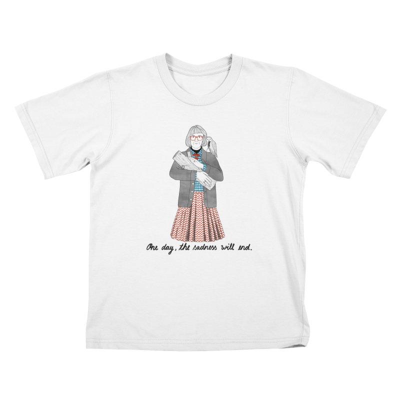 The Log Lady Kids T-Shirt by juliabernhard's Artist Shop