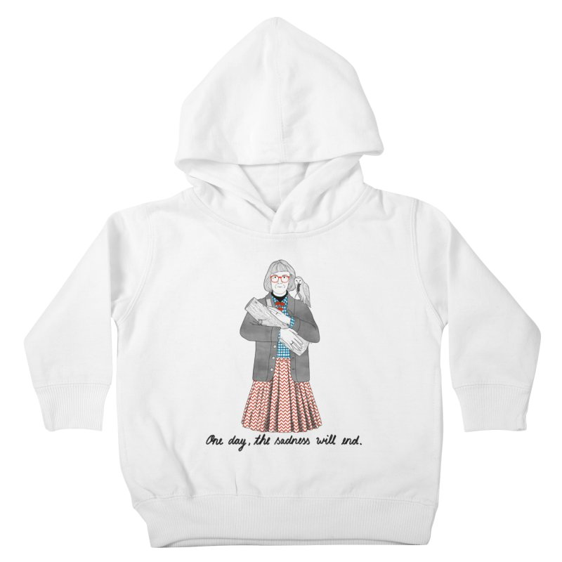 The Log Lady Kids Toddler Pullover Hoody by juliabernhard's Artist Shop